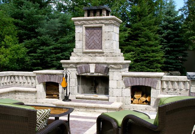 Tuscany Fire Place